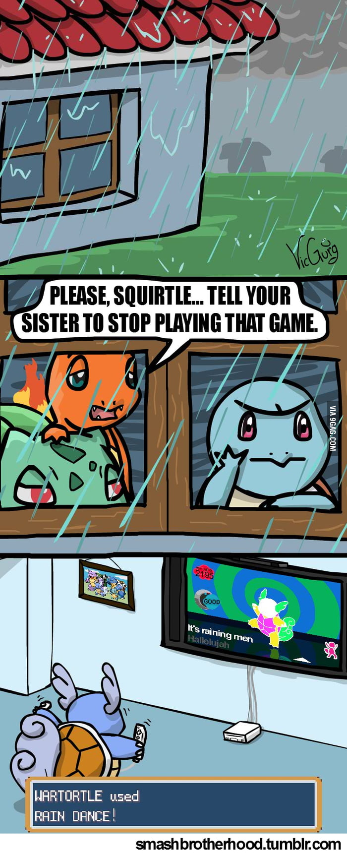 Water Pokémon and Dancing Games