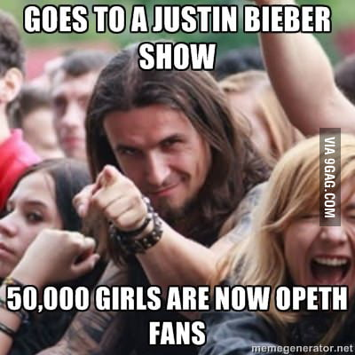Turning Bieber fans into metal!