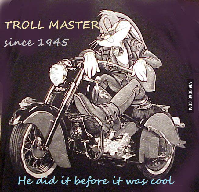 Bugs Bunny, Troll Master Since 1945