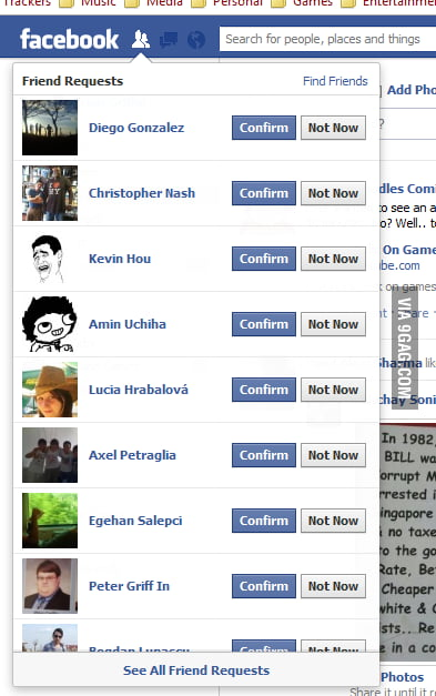Daaamn, you make one comment on 9GAG...