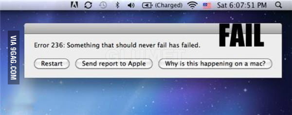 A fail has failed...