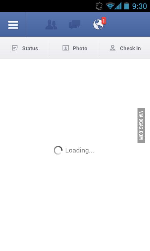 my facebook mobile app isn t working