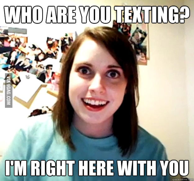 Overheard a girl at the mall say this to her boyfriend.