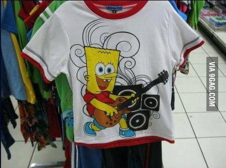 Look mom! Sponge Simpson