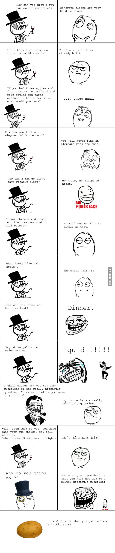 A troll interview ...