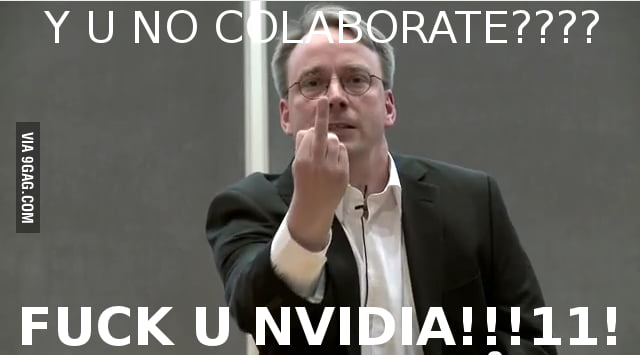 Nvidia, Linus has something to say to you!!