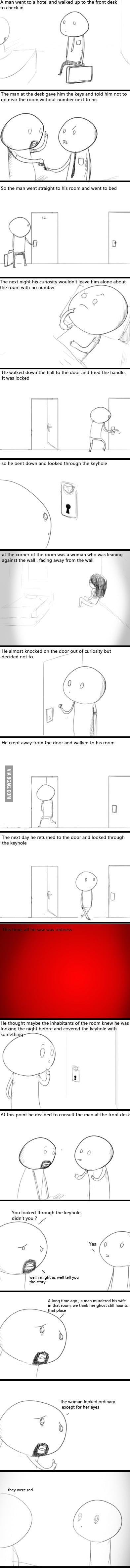 Scary Keyhole
