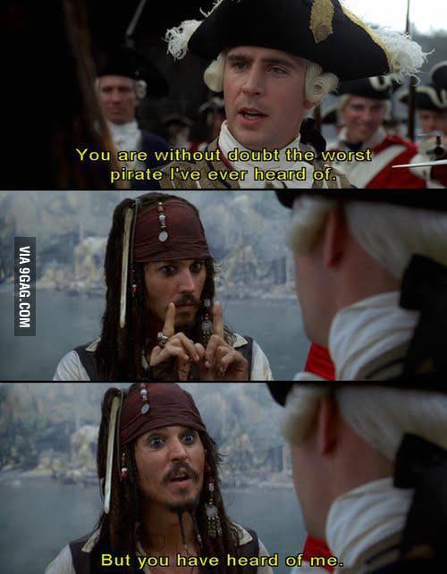 The logic of Captain Jack Sparrow