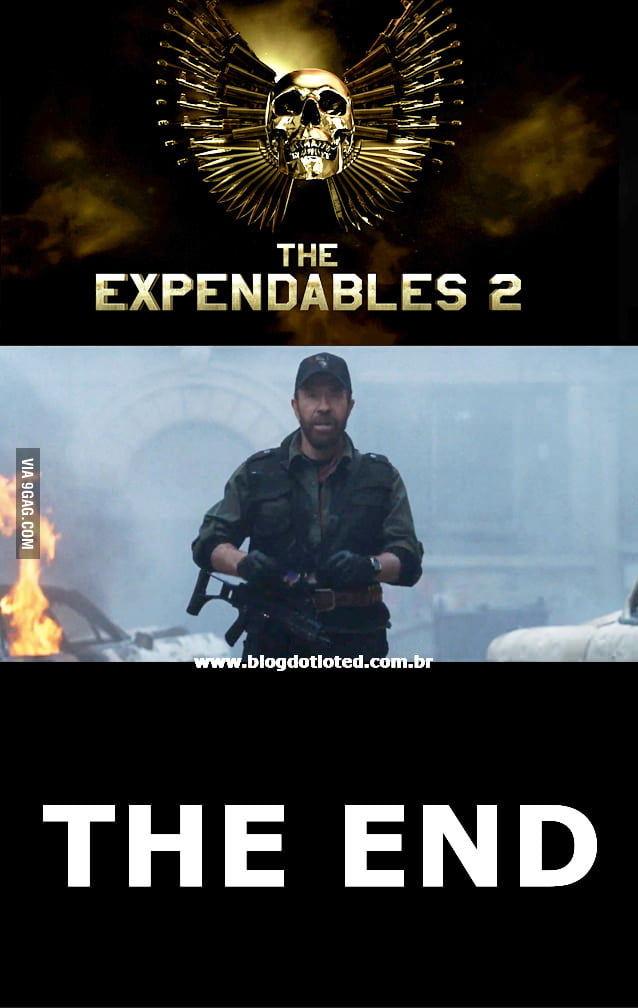 Spoiler, The Expendables 2