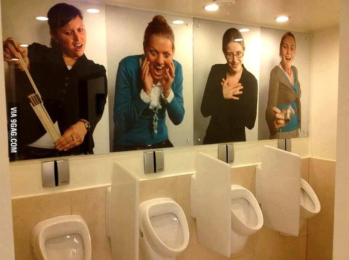 Awkward Urinals