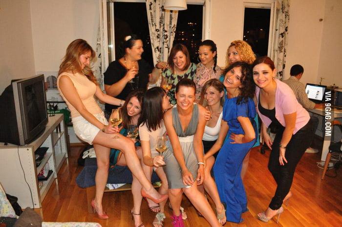 Eleven Women, One Guy