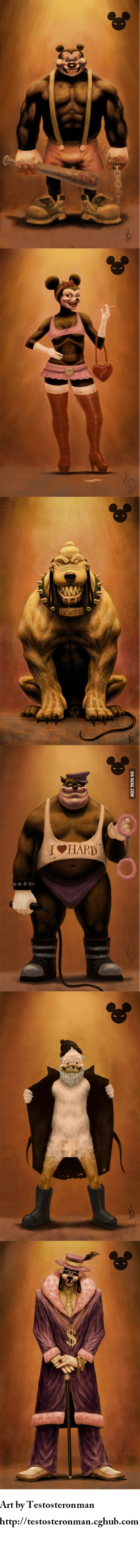 What if Disney's characters were bad?