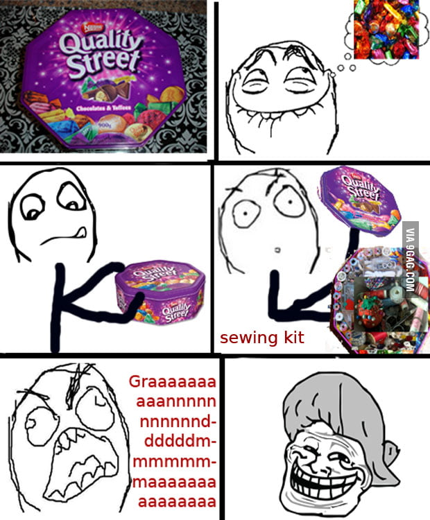 Everytime I crave quality street !