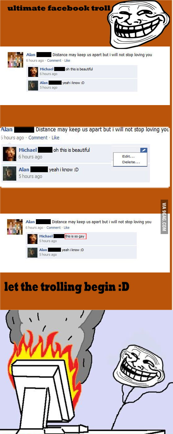 Ultimate facebook troll
