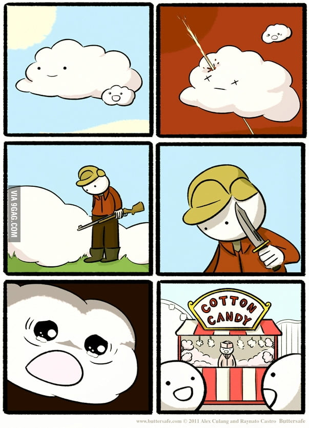 How cotton candy is made!