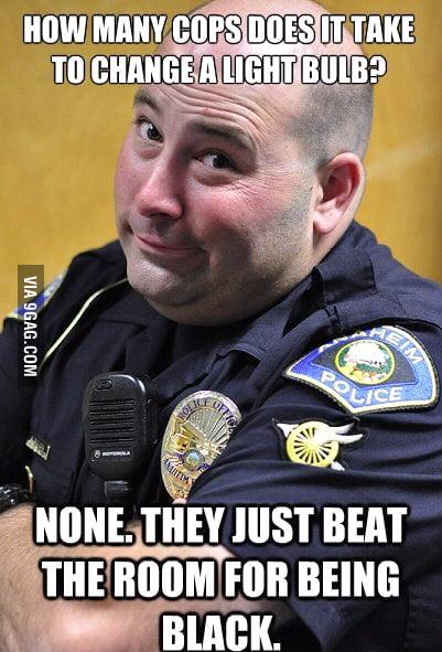 Scumbag cop