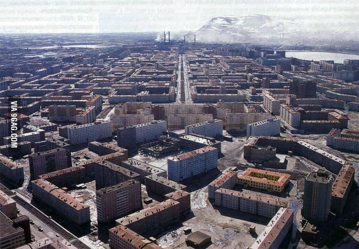 This is Norilsk, Russia