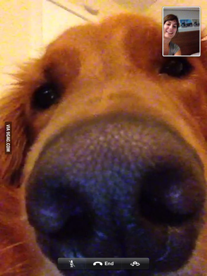 He wanted to Skype with my girlfriend