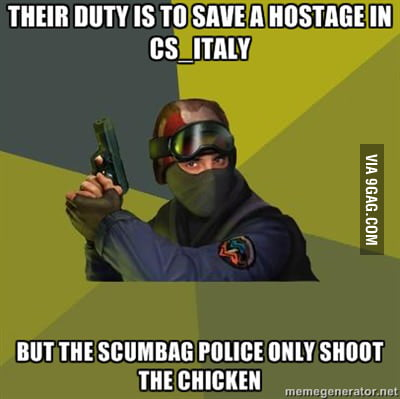 Scumbag Police