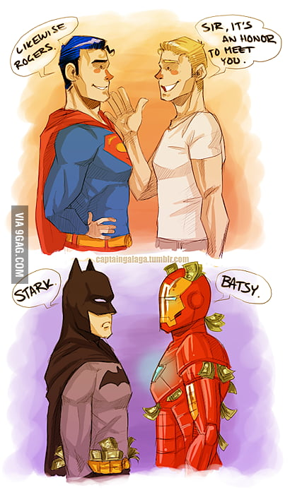 Avengers Meets Justice League