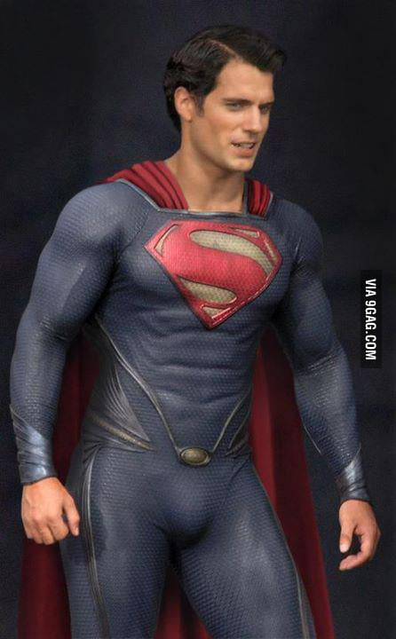 Today I was checking out Superman's new costume