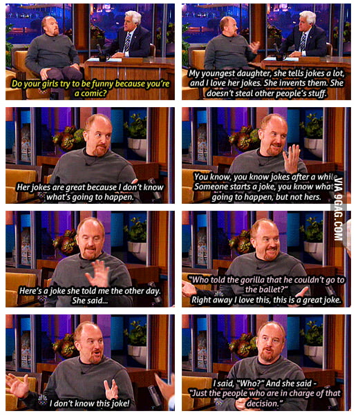 Louis CK On The Tonight Show