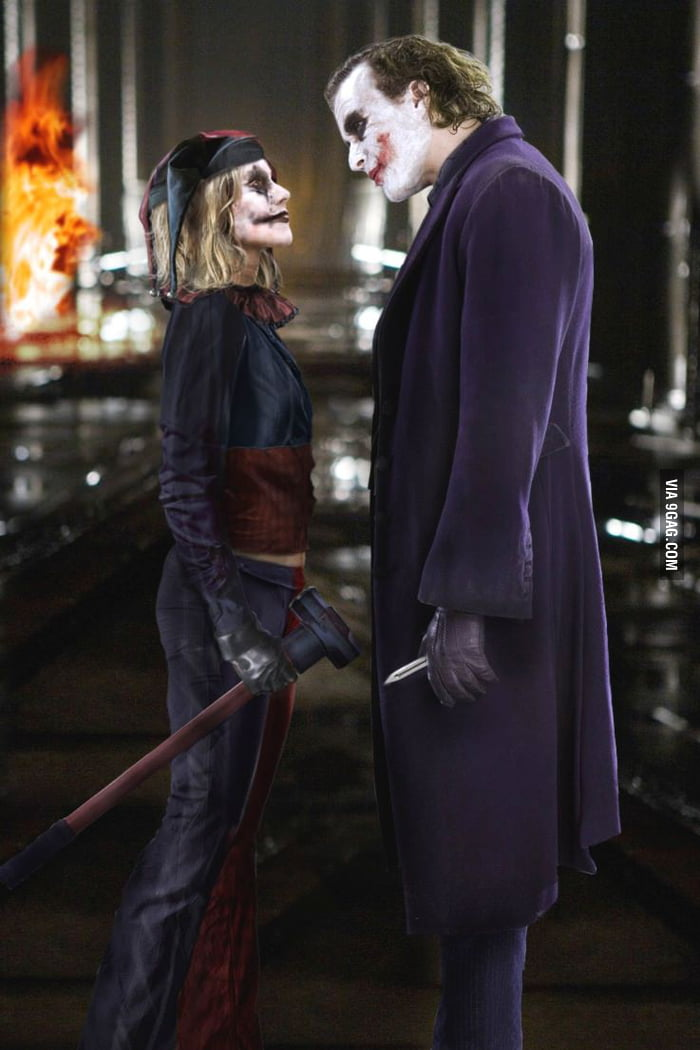 Just somebody's rendition of the Joker and Harley Quinn