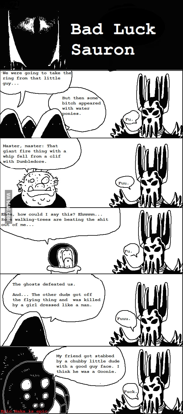Bad Luck Sauron