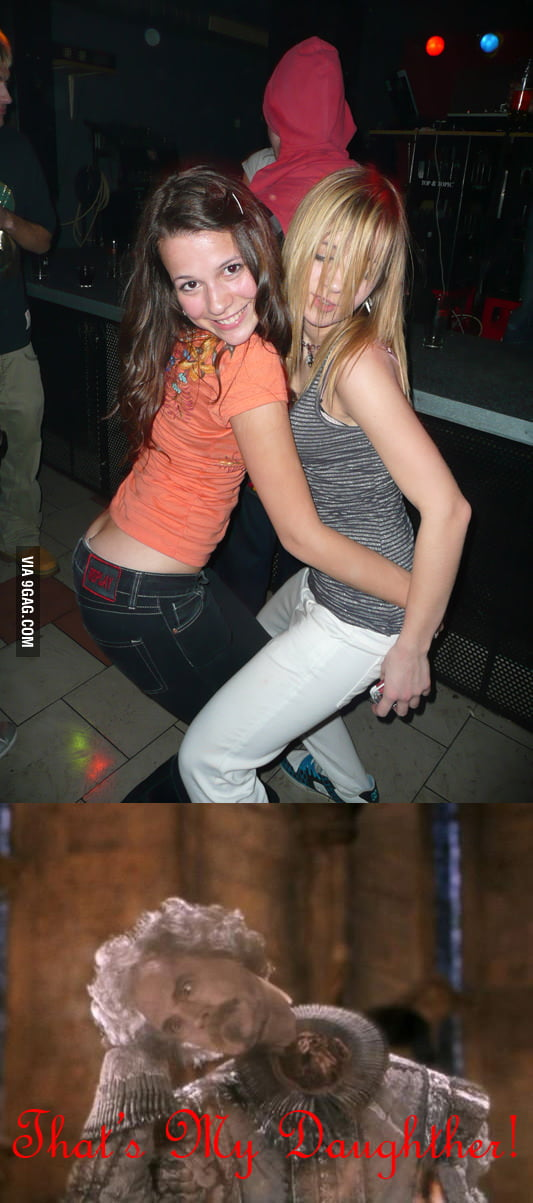 Just dancing girls...wait...what?