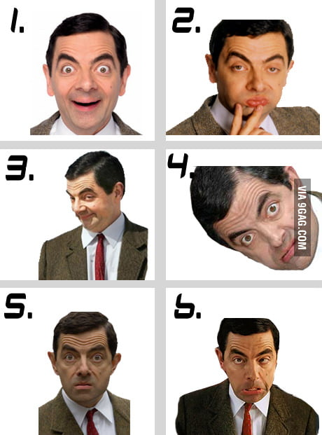 Your favorite Rowan Atkinson face