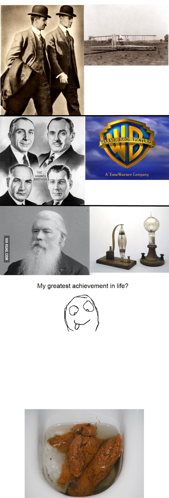 People and their greatest achievements in life.