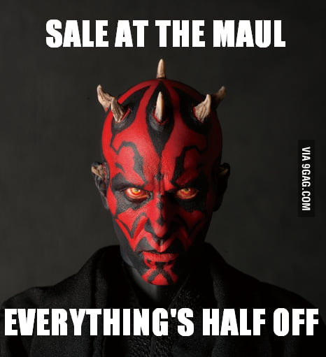 Sale at the 'Maul'