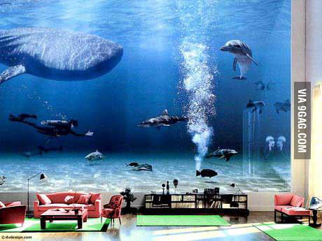 Just Bill Gates 's Living Room !