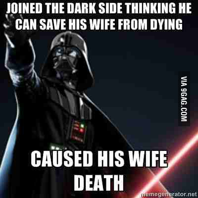 Just Darth Vader