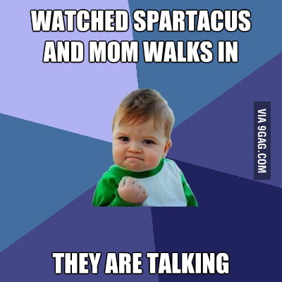 Watched Spartacus