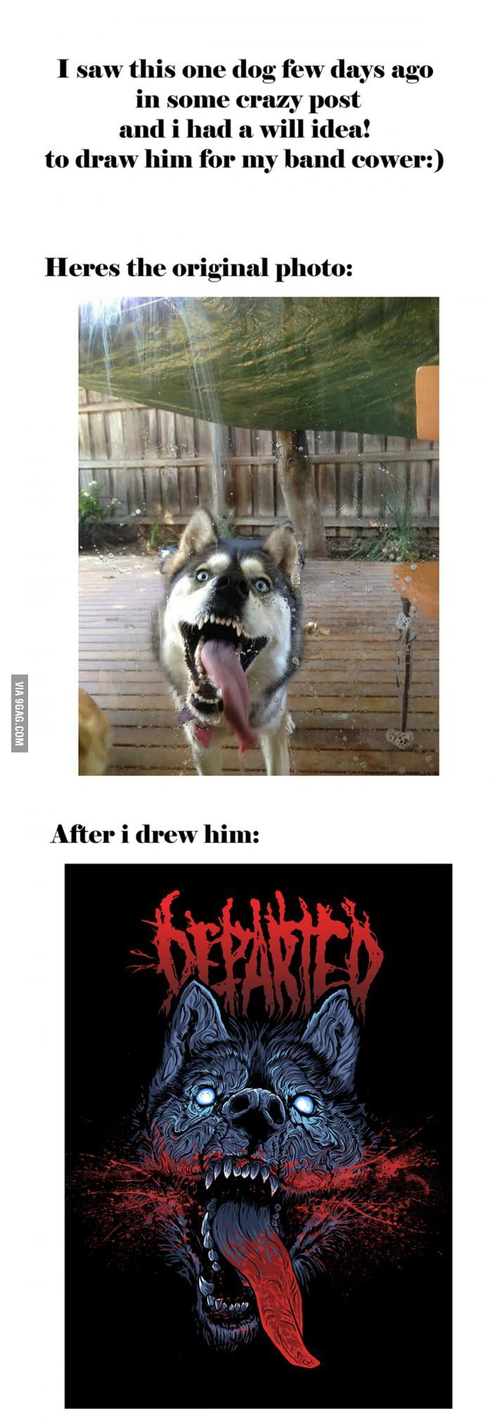 Demon dog!