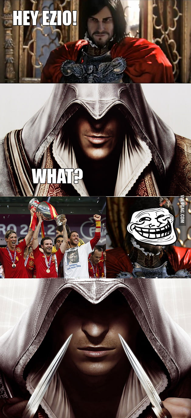 The real story behind Assassin's Creed - 9GAG