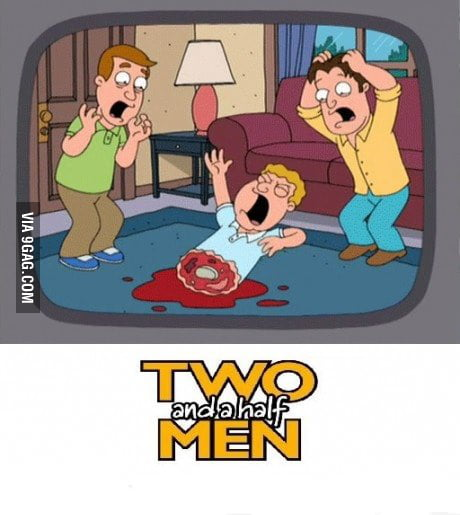 Literally 2 and half men