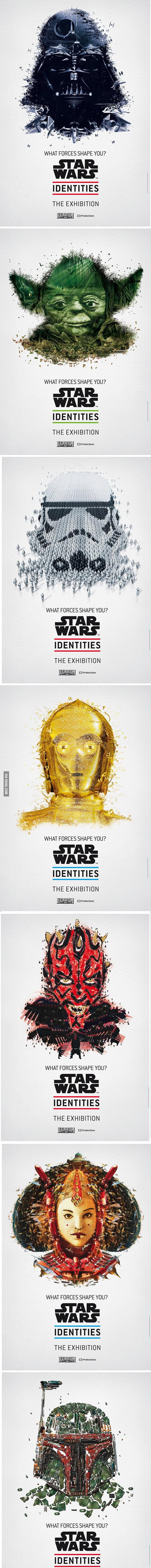 Star Wars shapes