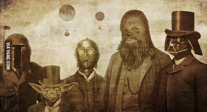 Star Wars like a Sir