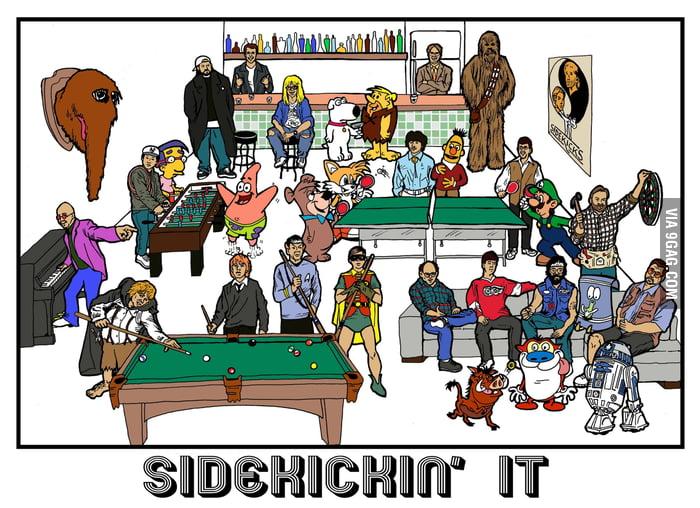 Sidekickin' It