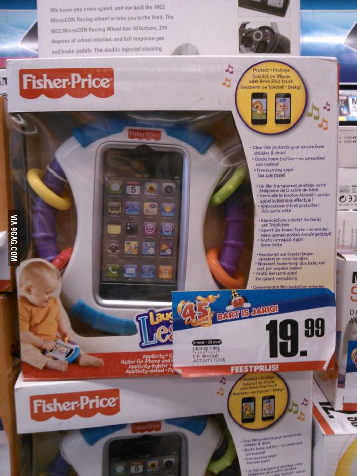 Iphone for baby's..