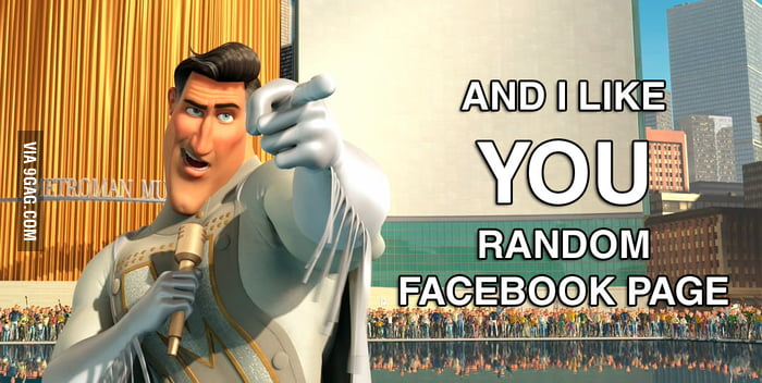 How I feel when people ask me to Like their facebook page