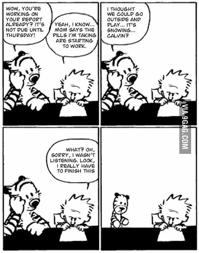 The last ever Calvin & Hobbes Comic