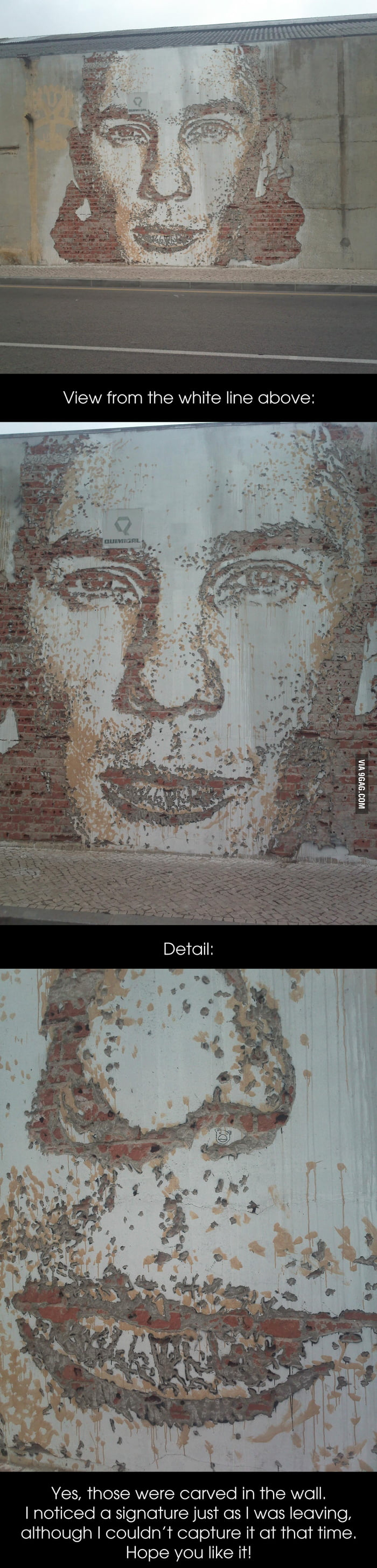 Street Art Outside Aveiro Train Station