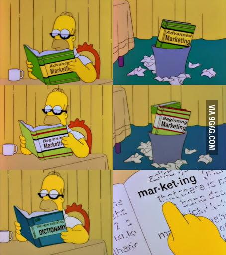 Homer learning Marketing