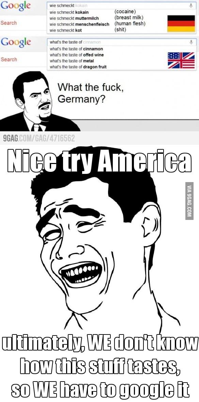 Nice try, America!