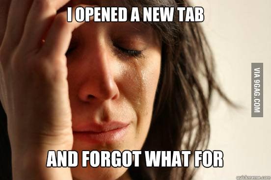 First world internet problems