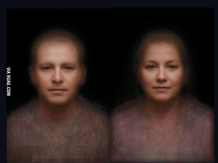 "Composite image of 160k faces - The average ""Face of Sydney"""