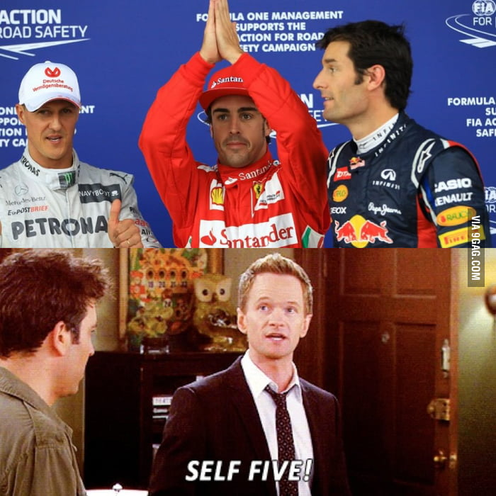 Fernando Alonso Just Being Awesome